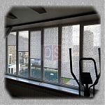 рулонные шторы для тренажерного зала