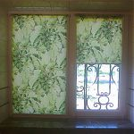 рулонные шторы листва