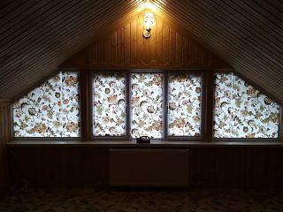 рулонные шторы на нестандартные окна