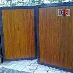 Ворота распашные Форест парк