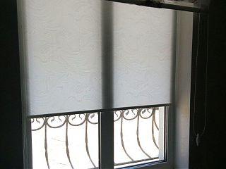рулонная штора, ткань mirage white