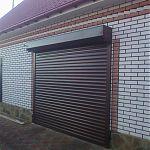 Ролетные ворота в гараж
