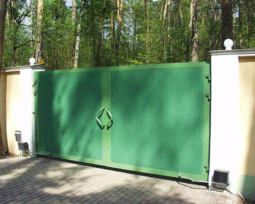 Распашные ворота купить в Донецк, ворота Дорхан донецк