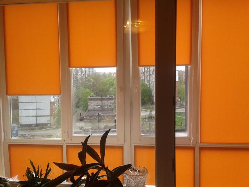 Ролеты тканевые на балкон
