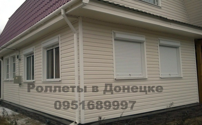Роллеты на окна Донецк, купить роллеты наокна