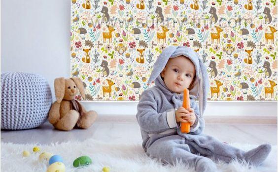 Детские ткани рулонных штор