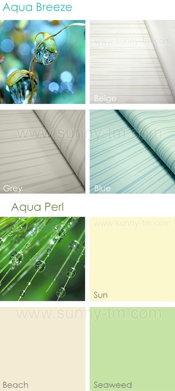 Новые водоотталкивающие ткани для рулонных штор