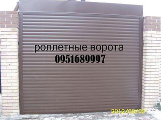 Роллетные ворота в Донецке, ролетные ворота Донецк